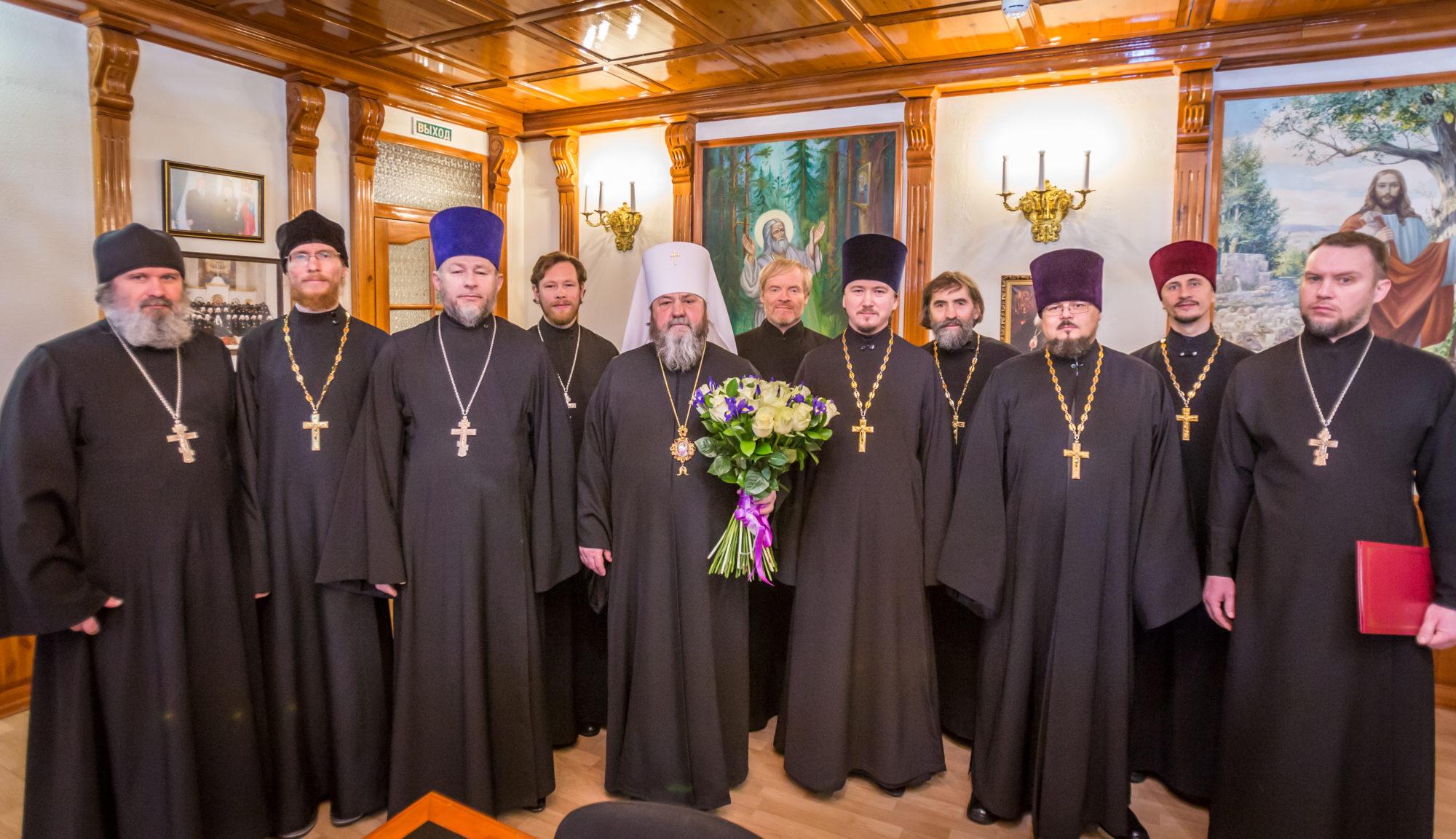 Духовенство Завьяловского благочиния